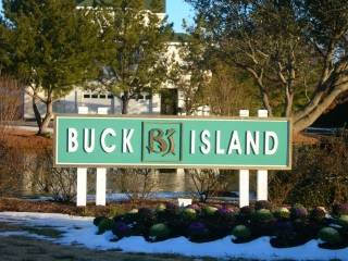 Buck Island subdivision sign