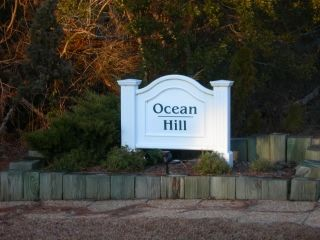 Ocean Hill subdivision sign