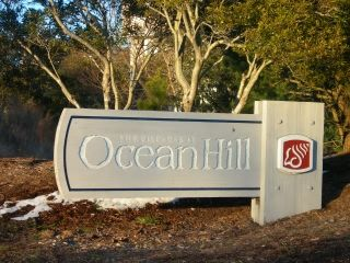 The Villages at Ocean Hill subdivision sign