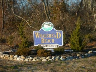 Whalehead Beach Club subdivision sign