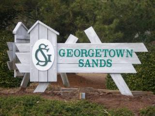 Georgetown Sands Condo sign