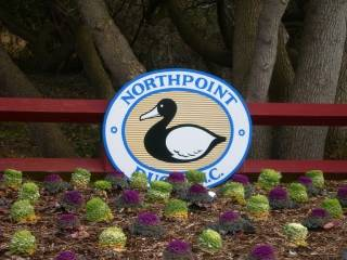 Northpoint subdivision sign