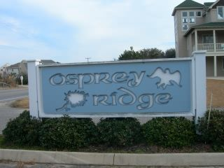 Osprey Ridge subdivision sign