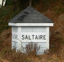 Saltaire subdivision sign