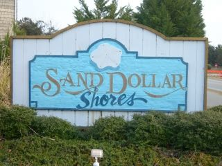 Sand Dollar Shores sign