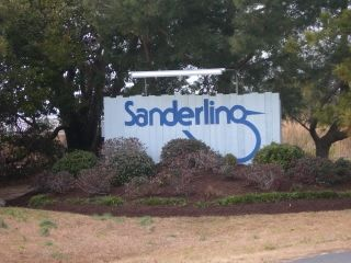 Sanderling subdivision sign