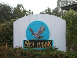 Sea Hawk subdivision sign