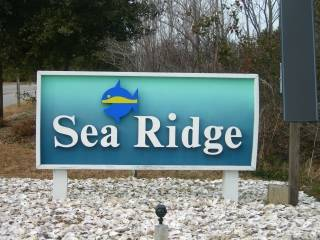 Sea Ridge subdivision sign