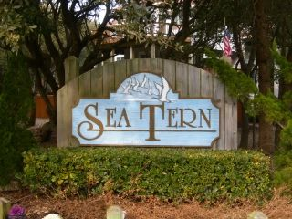 Sea Tern Subdivision sign