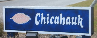 Chicahauk subdivision sign
