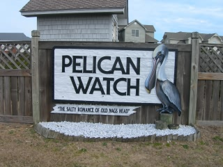 Pelican Watch subdivision sign